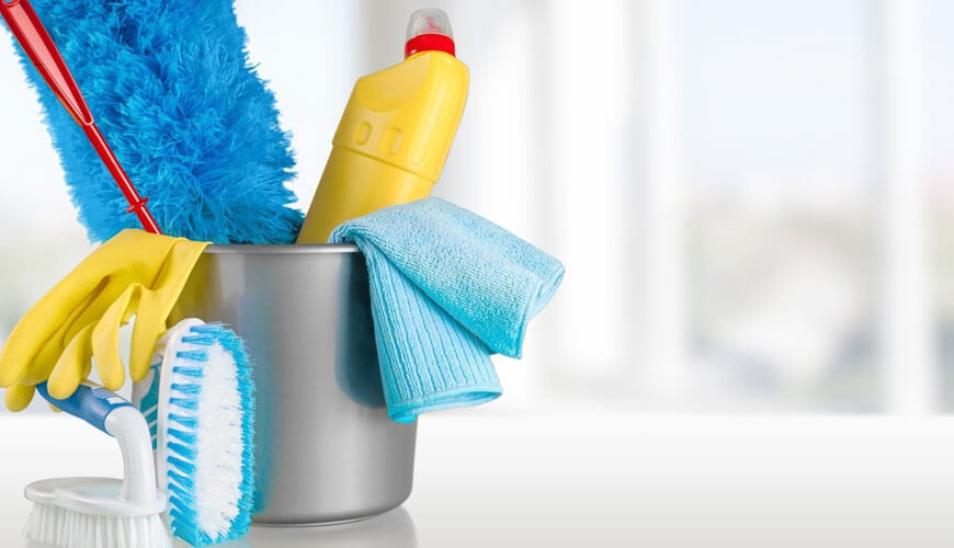 Apartment Cleaning tools