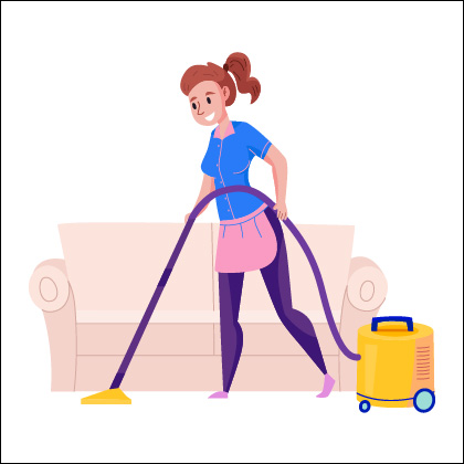 rooms cleaning
