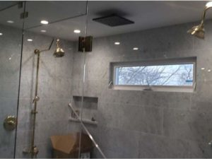 Post-constrructions-cleaning- gray-stone-bathroom