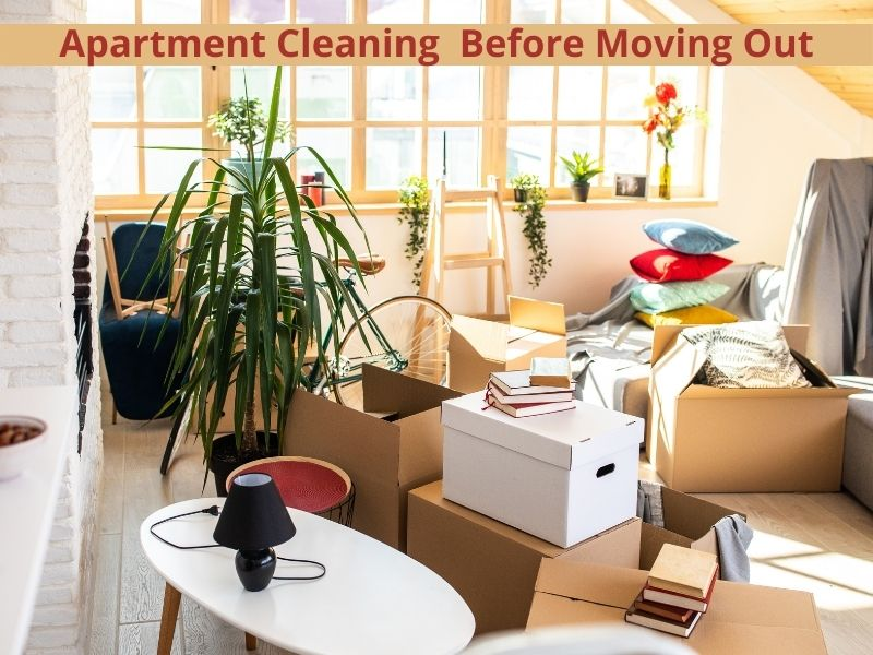 Apartment Cleaning Services Chicago Before Moving Out