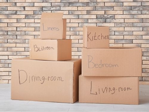 Boxes With Labels