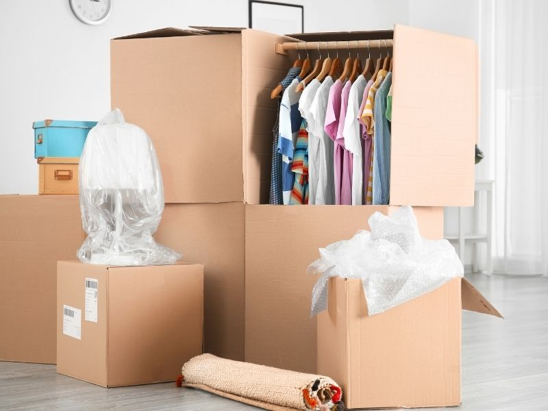 Hangers, drawers, and boxes